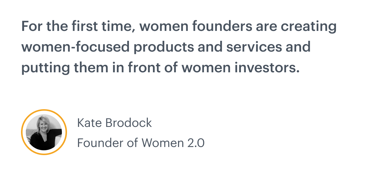 Starting a women-led fund: An interview with Women 2.0 founder Kate Brodock 1