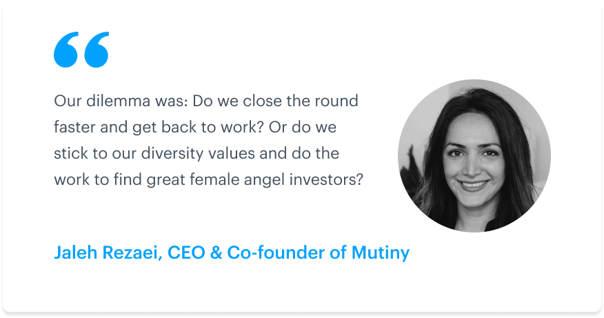 How a Y Combinator founder maintained a cap table that was 50 percent women 1