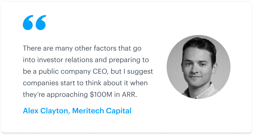 SaaS company valuations, metrics, and IPOs: An interview with Alex Clayton of Meritech Capital 4