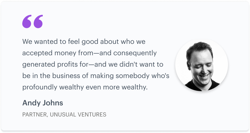 Growth and innovation: a Q&A with Andy Johns of Unusual Ventures 2