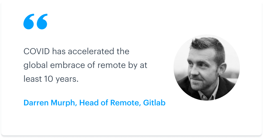 How COVID-19 is changing the remote landscape: A Q&A with GitLab's head of remote 3