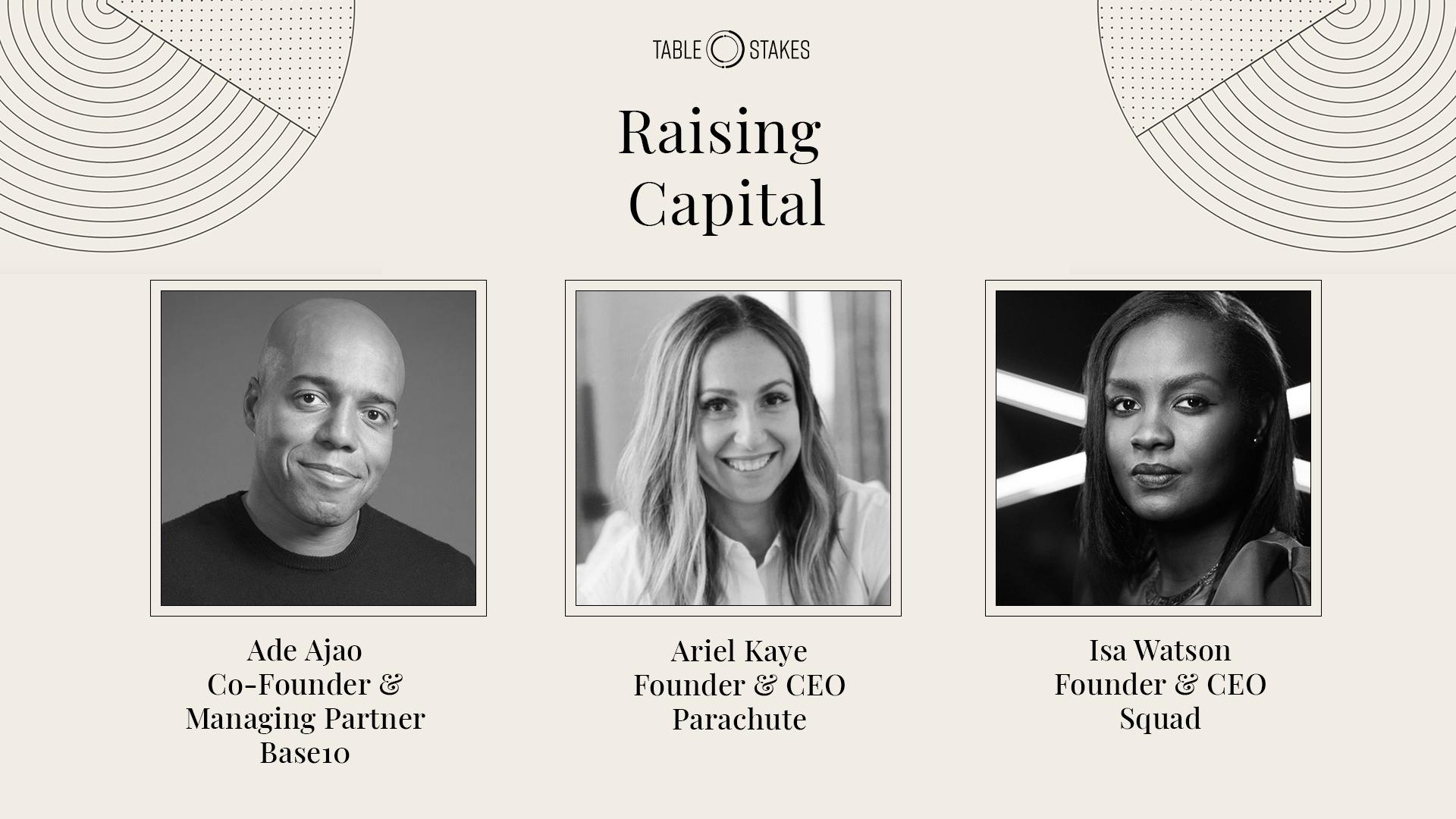 Raising Capital Panel