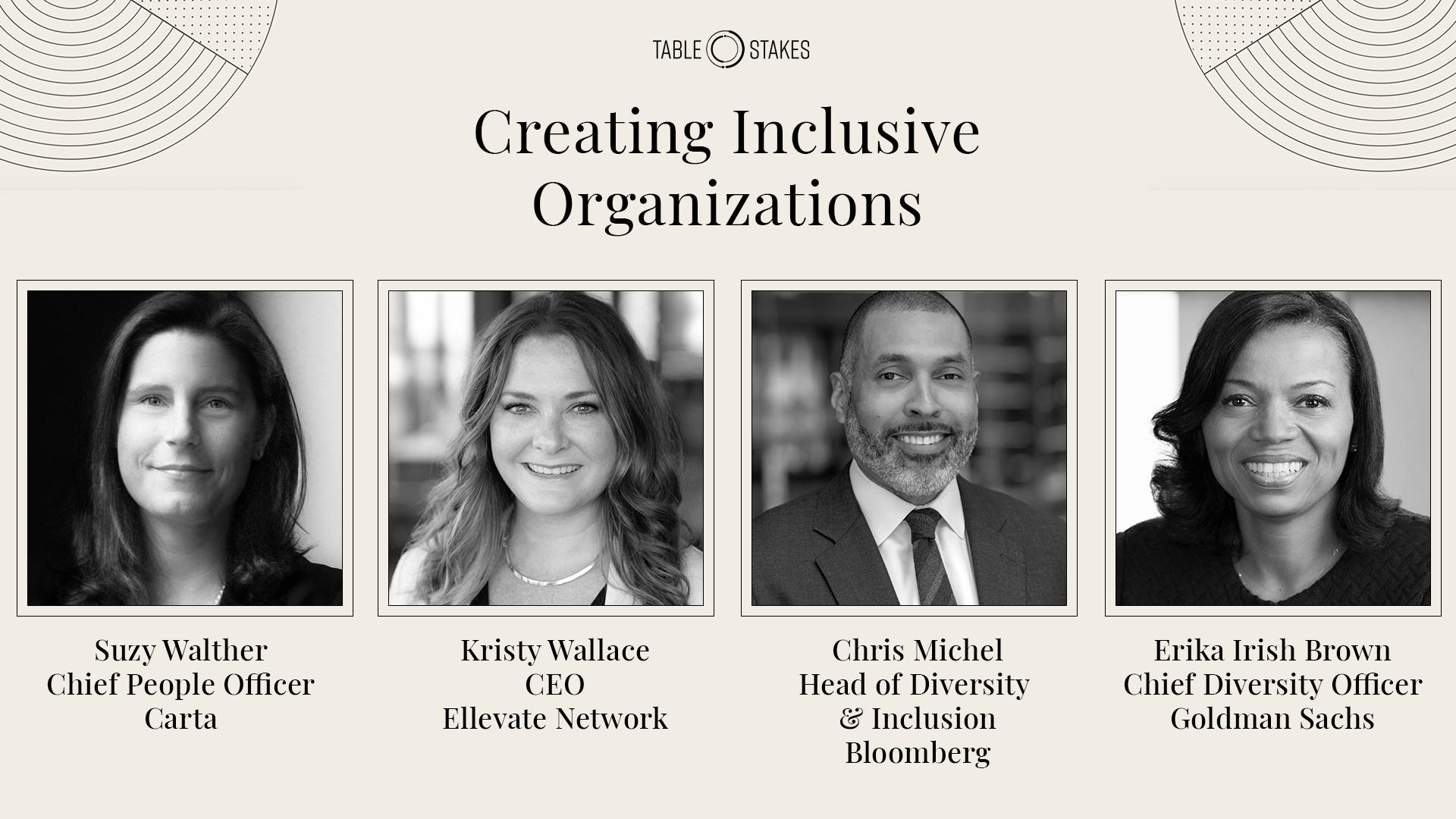 Creating Inclusive Organizations