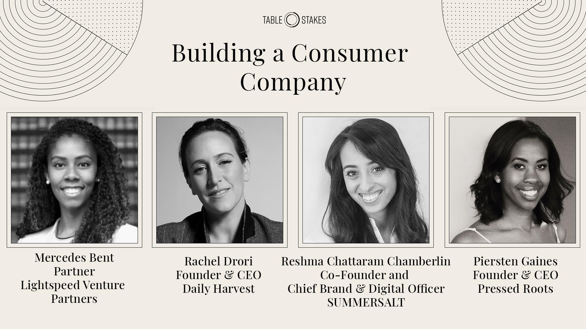 Building a consumer company