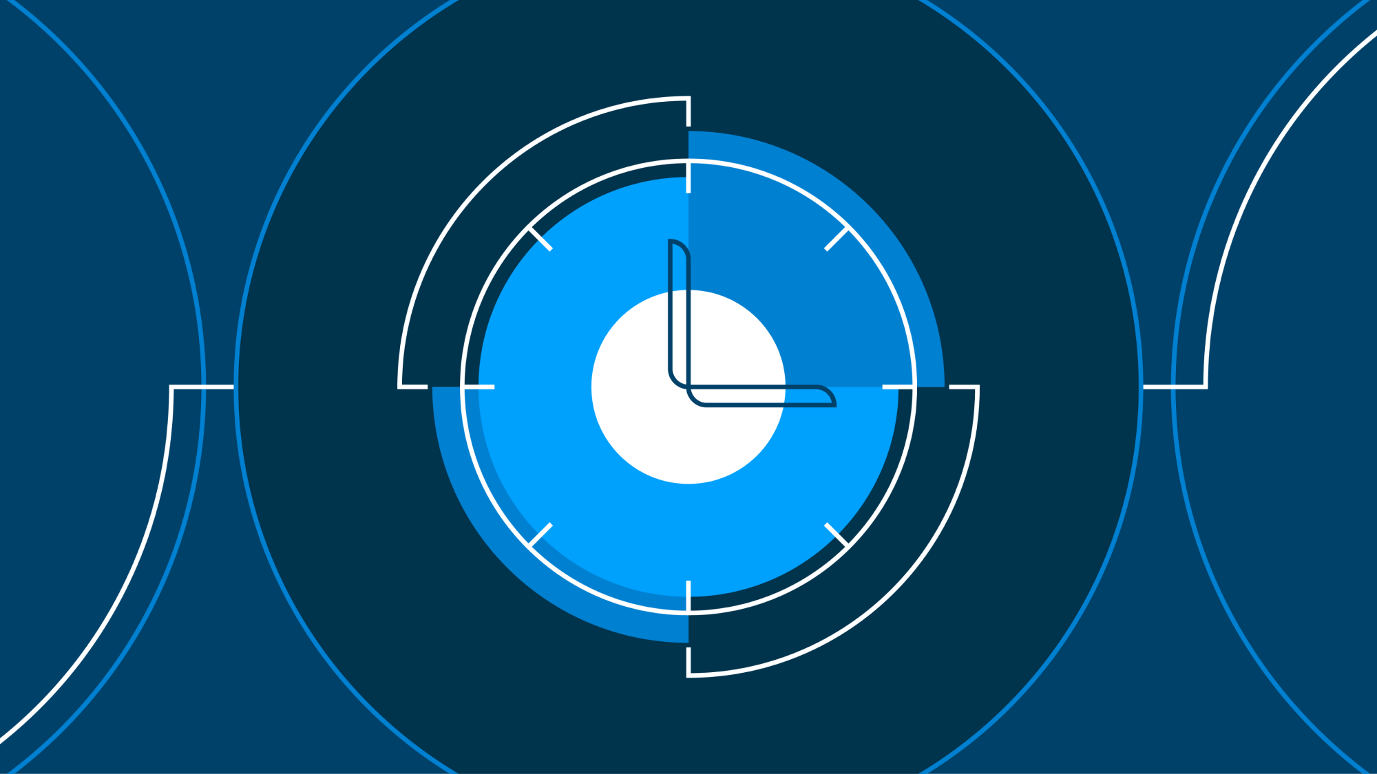 An illustration of a clock